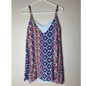 Myan Small Aztec Print Sleeveless blouse